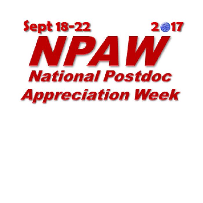 Postdoc Appreciation Week Button