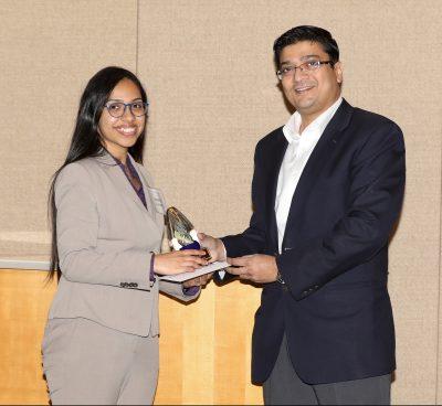 UConn PhD candidate, Shreya Kulkarni, awarded Baxter Young Investigator Award