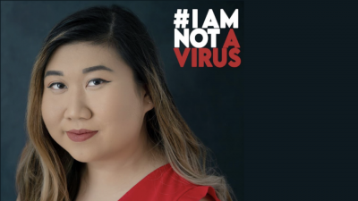 MSW student Kelly Ha (Courtesy of #IAmNotAVirus)